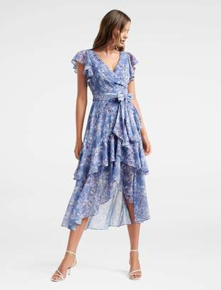 Ever New Tiffany Wrap Midi Dress