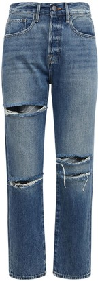 Frame Le Original Destroyed Crop Denim Jeans