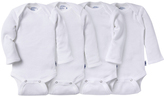 Jockey Girls Long Sleeve Mitten Cuff Bodysuit - 4 Pack