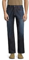 Diesel Waykee L.34 Straight Fit Cotton Jeans