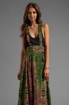 Tallow Pandanus Maxi Skirt