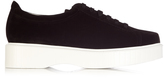 Robert Clergerie Pasket flatform suede trainers