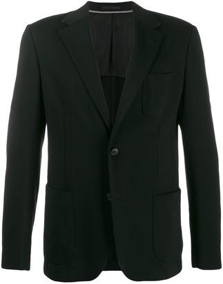 Ermenegildo Zegna Textured Blazer Jacket