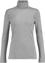 Majestic Silk-jersey turtleneck sweater