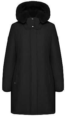Woolrich Women's Bow Bridge Fur Trim Jacket