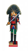Asstd National Brand 15 Pirate Nutcracker