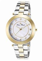 Lucien Piccard Women's LP-16309-SG-22 Odessa Two-Tone Stainless Steel Watch