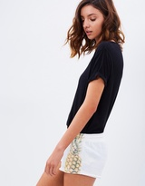 PJ Salvage Summer Nights Pineapple Shorts