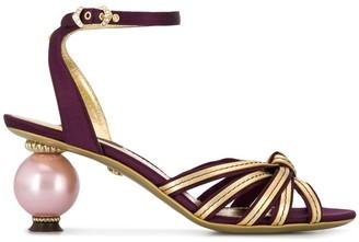 Dolce & Gabbana Ornate Heel Sandals