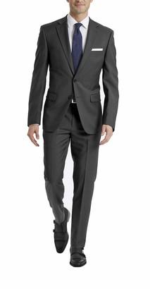 Calvin Klein Men's X Fit Stretch Slim Suit