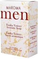 Smallflower Tonka Vetiver Men's Soap by Maroma (150g Soap Bar)