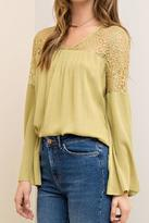 Entro Lime Lace Top