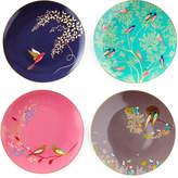 Spode Sara Miller Gold-Plated Assorted Plates, Set of 4