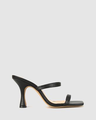 betts Women's Black Strappy sandals - Ivy Stiletto Sandals - Size One Size, 8 at The Iconic