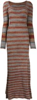 Jacquemus knitted striped dress