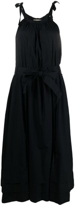 Ulla Johnson Sleeveless Draped Midi Dress