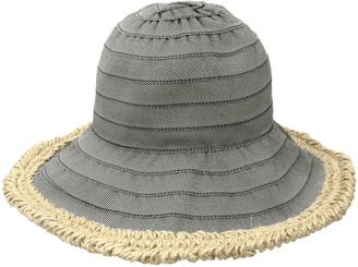 San Diego Hat Company Women's Bucket Hat with Wire Brim