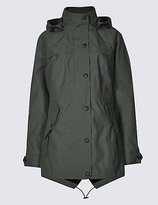 M&S Collection Waterproof Hooded Anorak