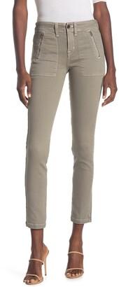Ramy Brook Eva Zip Pocket Ankle Crop Skinny Jeans