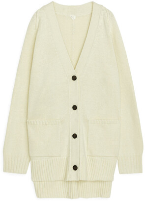 Arket Oversized Wool Cardigan