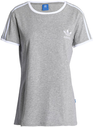 adidas Embroidered Cotton-jersey T-shirt