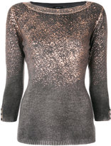 Avant Toi embroidered knitted sweater