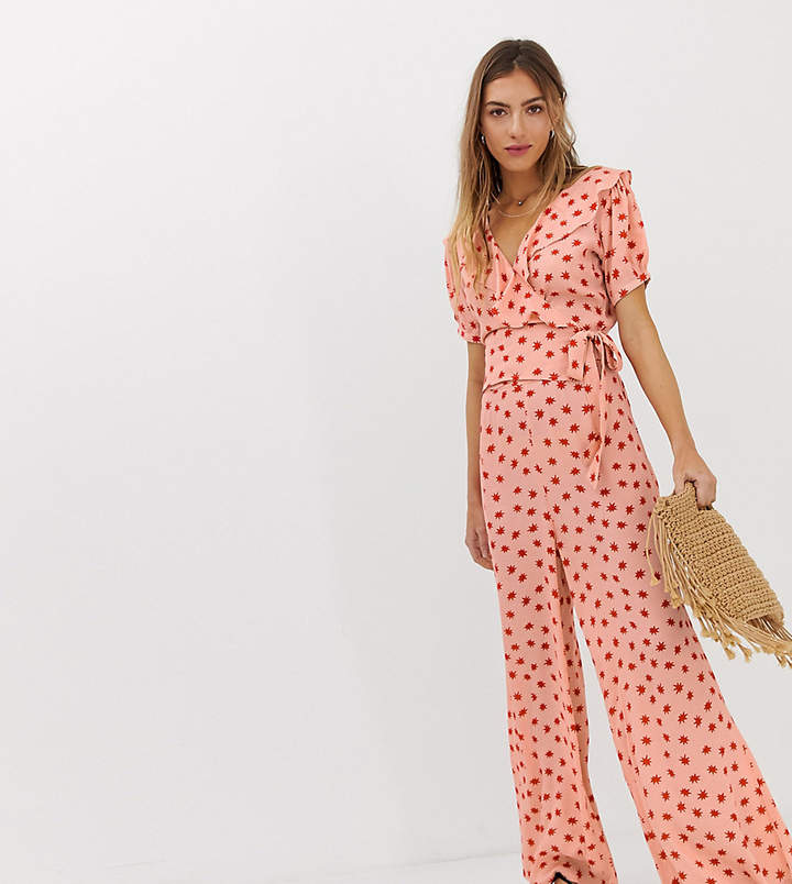 Lily & Lionel Exclusive wide leg pants in cosmos