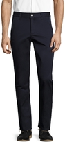 Wesc Men's Solid Slim Flat Front Chinos
