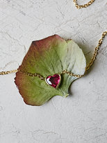Free People 14K Heart Necklace