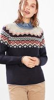 Esprit OUTLET intarsia knit in blended mohair
