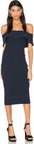 KENDALL + KYLIE Ruffle Midi Dress