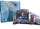 Disney Frozen Olaf, Elsa or Anna Bath and Beauty Set with Gift Tote Bag (Elsa)