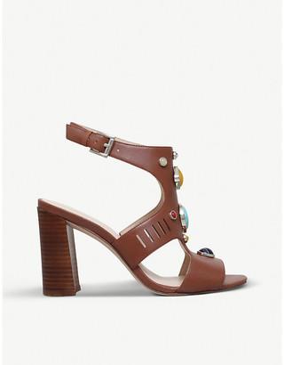 Nine West Chervil coloured stone-embellished sandals