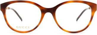 Gucci Gg0656o Havana Glasses
