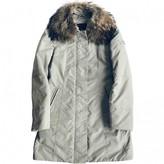 Peuterey Grey Fur Coat for Women