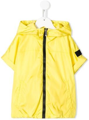 Il Gufo Short-Sleeved Hooded Jacket