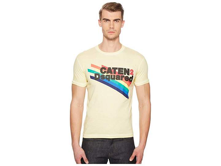 DSQUARED2 Faded Dyed T-Shirt Men's T Shirt