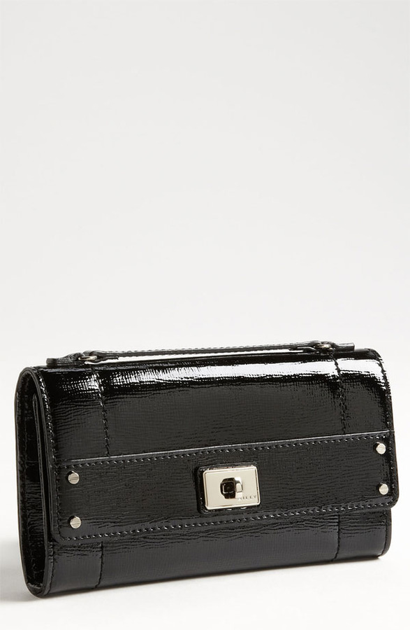 Milly 'Colette' Patent Leather Wallet