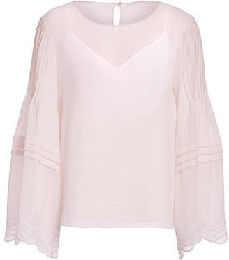 See by Chloe Georgette Long-Sleeve Blouse