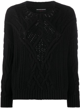 Ermanno Scervino Cable-Knit Jumper