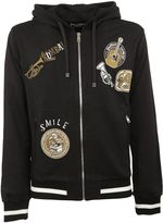 Dolce & Gabbana Musical Patch Zip Hoodie