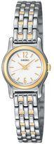Seiko® Two-Tone Round Watch