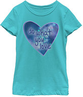 Fifth Sun Tahiti Blue 'Do What You Love' Tee - Girls