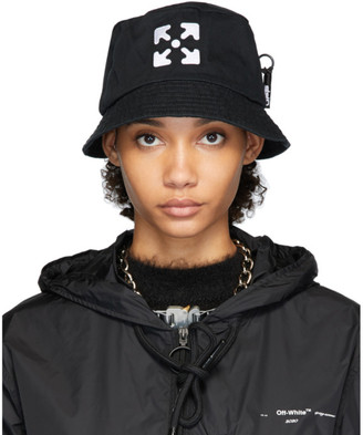Off-White Off White Black Logo Bucket Hat