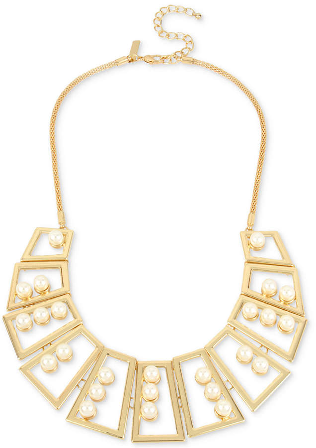 INC International Concepts M. Haskell for Geometric Statement Necklace, Created for Macy's