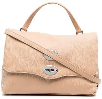 Zanellato Stud Embellished Tote Bag