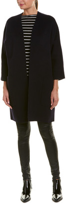 Vince Reversible Wool-Blend Coat