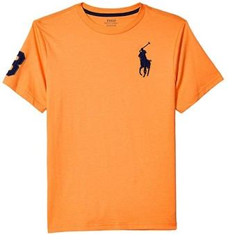 Polo Ralph Lauren Kids Big Pony Cotton Jersey Tee (Big Kids) (Thai Orange) Boy's Clothing