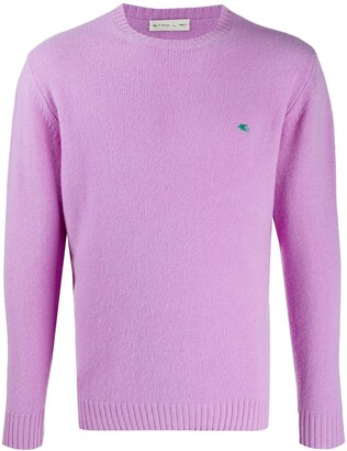 Etro Embroidered Logo Jumper