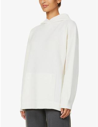 Johnstons Kalene dropped-shoulder wool hoody